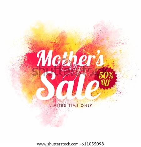 mother's day sale with 50  off