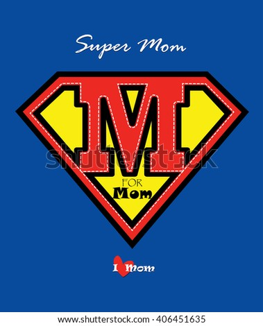mothers day card   super mom