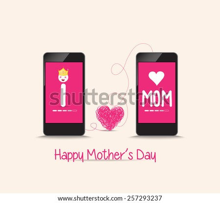 mothers day connecting love