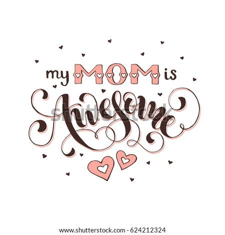 mothers day greeting card my