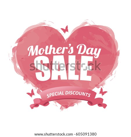 mothers day sale design eps 10