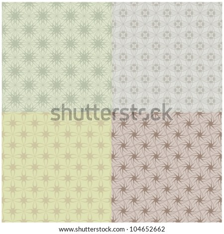 motif background vector set
