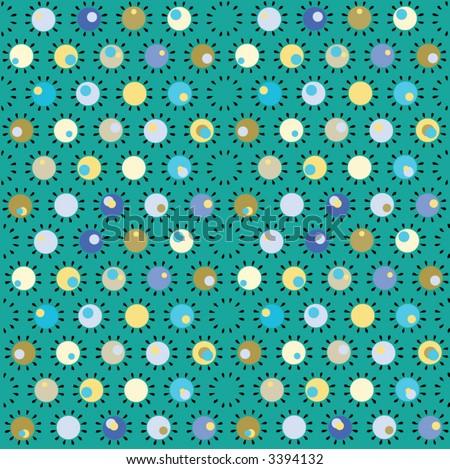 Motif retro patterns stock vector illustration 3394132 for Carrelage motif retro