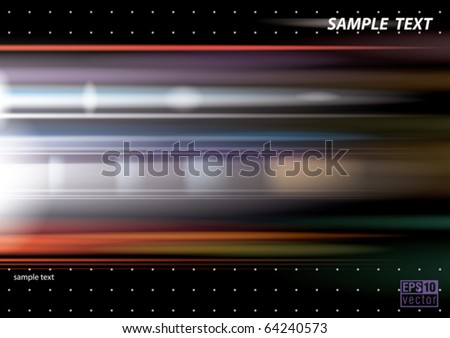 Motion background, eps10 vector