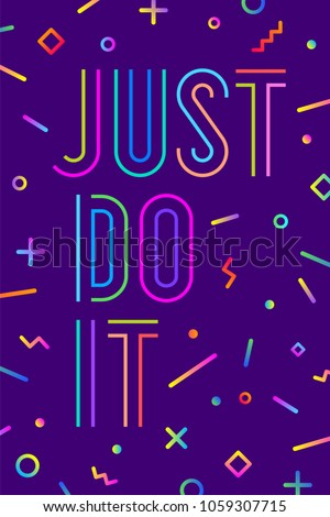 motivation positive poster and