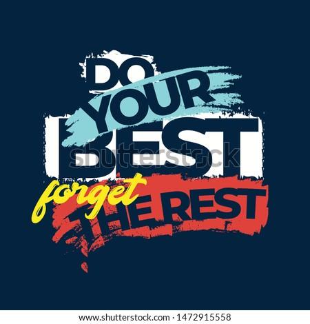 Motivational Quote for Success Design.