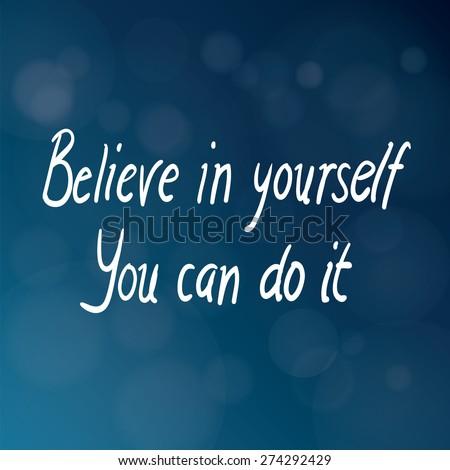 motivational words concept