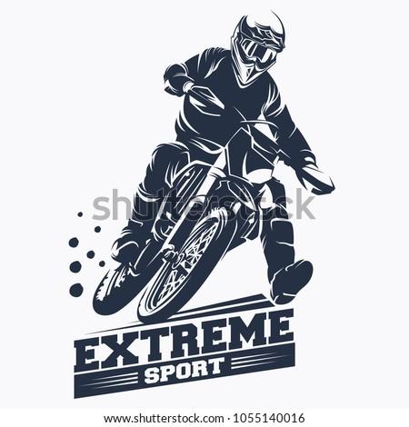moto track or motocross jump