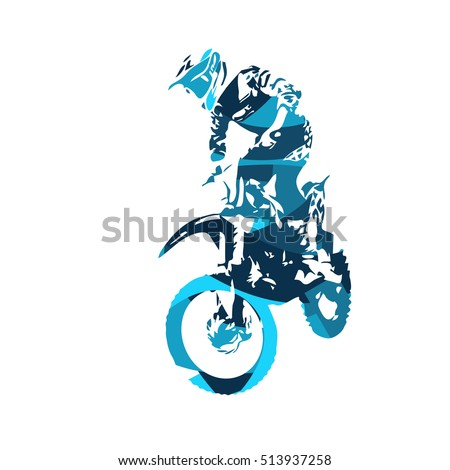 motocross jumping freestyle