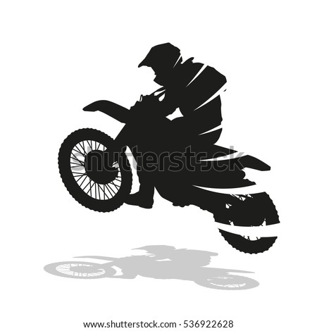 motocross racing  abstract