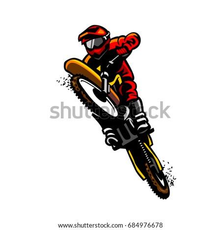 motocross standing