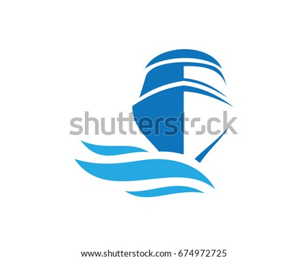 motor boat and sail boat side