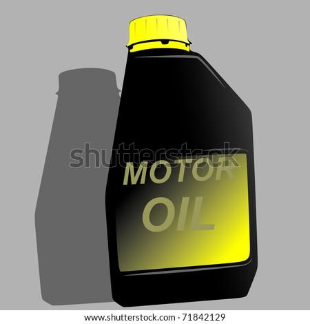 motor oil vector