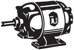 Motor - Retro Ad Art Illustration