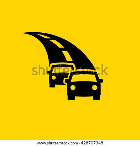 motor vehicles on highway