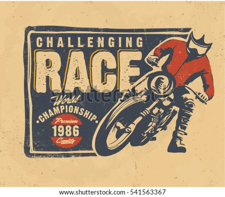 motorcycle motocross vector