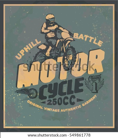 motorcycle motorcross off