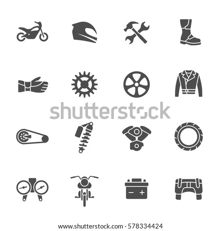 Motorcycle Part Free Vector Art 82 Free Downloads