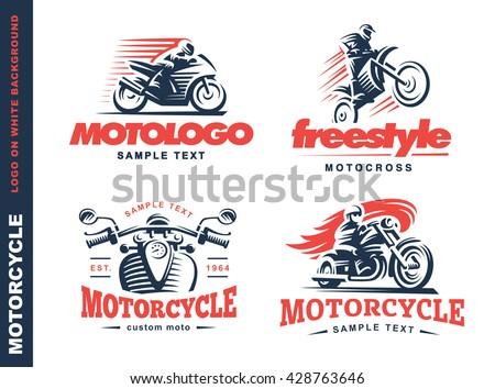 motorcycle shield emblem  logo
