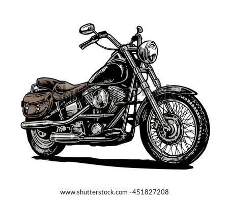 Vintage Motorcycles Emblem Download Free Vector Art Stock