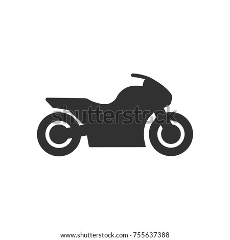 motorcycle  simple icon