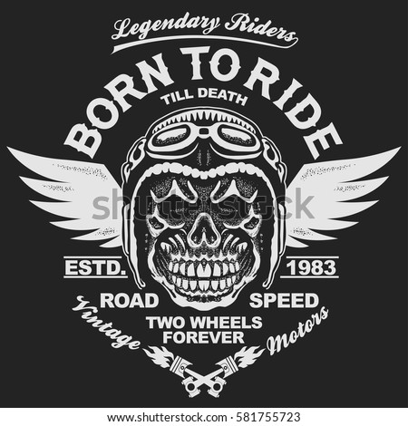 motorcycle t shirt graphics