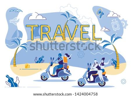 motorcycle travel along coast