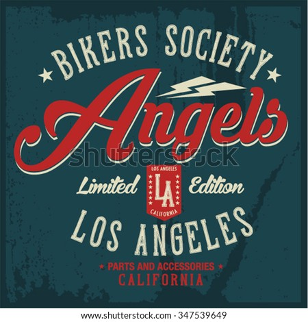 motorcycle vintage graphics