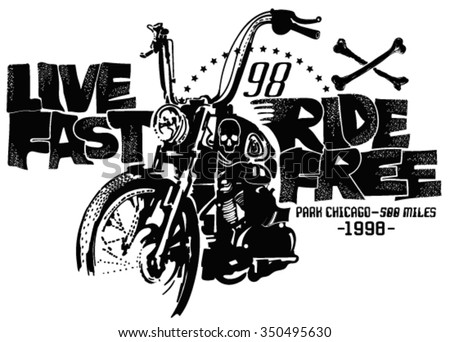 motorcycles and typography....
