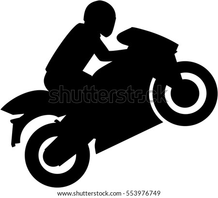 Motorcycle Silhouette Vector Icons Download Free Vector Art Stock