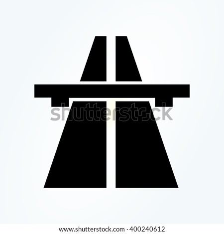 Motorway. Highway sign