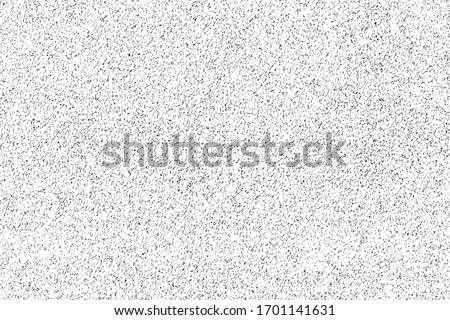 Mottled grunge texture of foam. Overlay template. Vector illustration