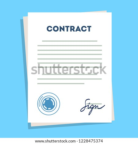 mou contract agreement memorandum of understanding legal document stamp seal