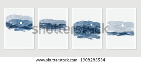 mountain and landscape wall
