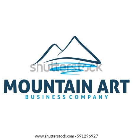mountain art logo