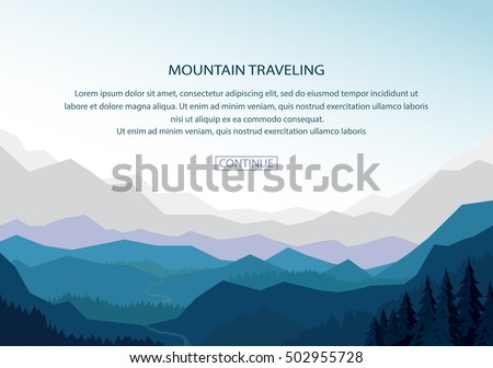 mountain background landscape