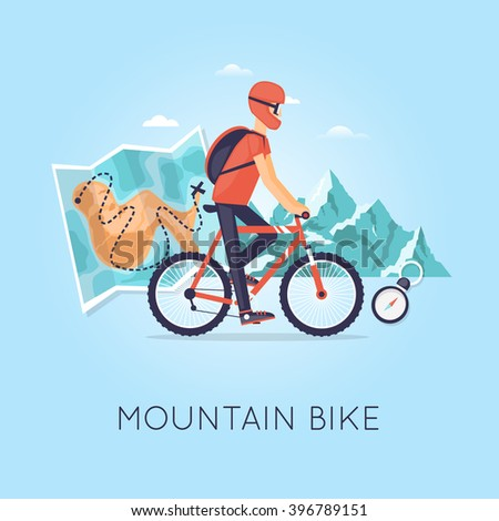 mountain biking  sports