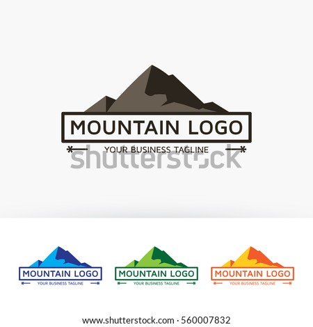 mountain  label  outdoor