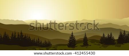mountain landscape beautiful