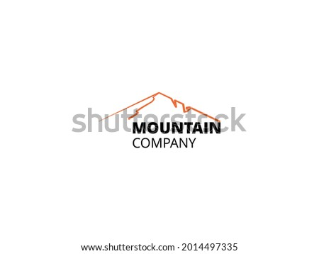 mountain landscape for outdoor