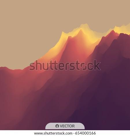 mountain landscape mountainous