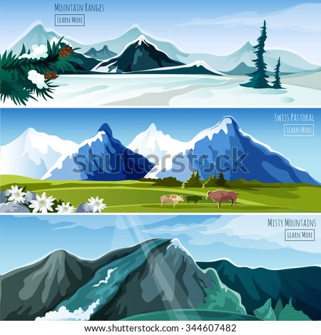mountain landscapes horizontal