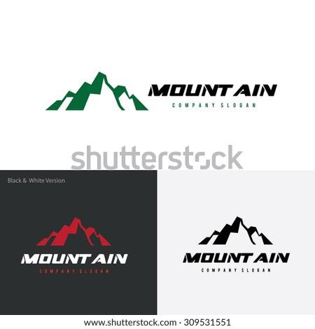 mountain logo outdoors logo