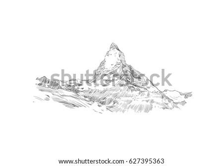mountain matterhorn symbol of
