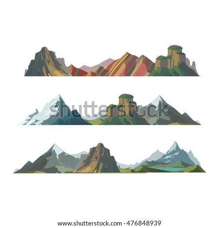 mountain mature silhouette