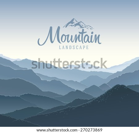 mountain panoramic landscape