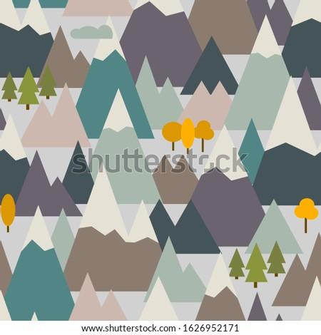 mountain ranges seamless