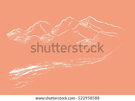 mountain sinai path road