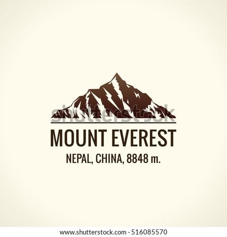 mountain tourist vector logo....