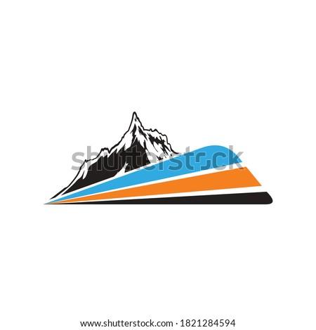 mountain train for adventure